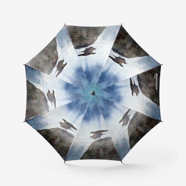 Зонт «Две чайки.»