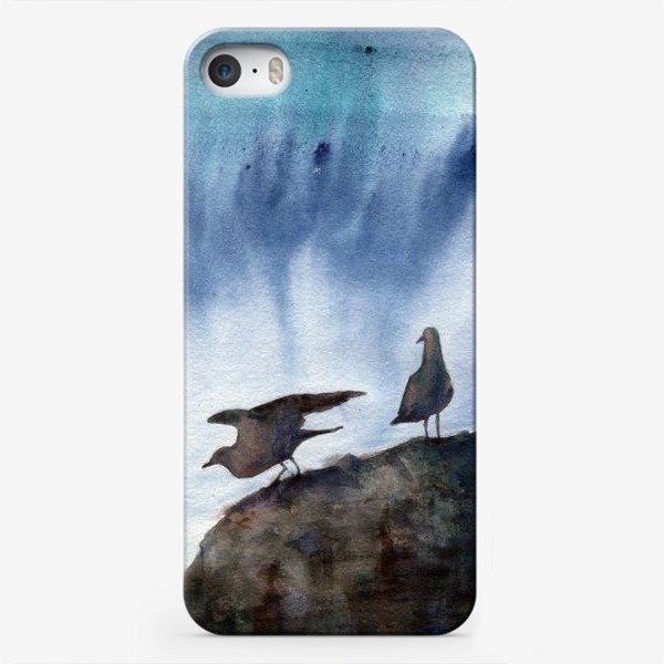 Чехол iPhone «Две чайки.»