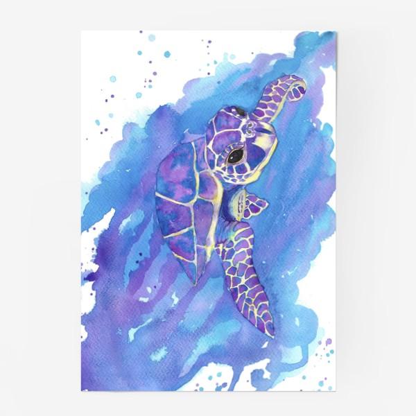 Постер «Морская черепаха»