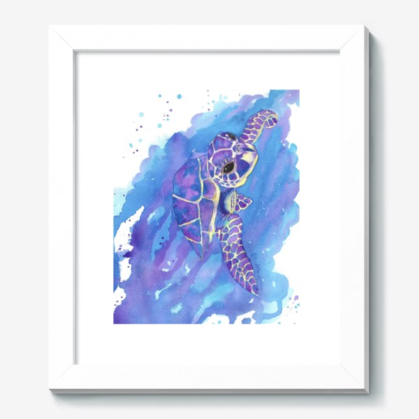 Картина «Морская черепаха»