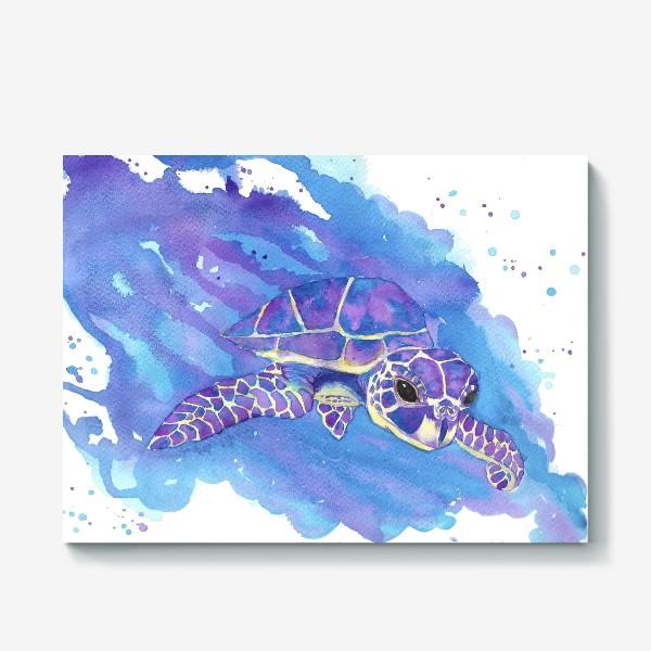 Холст «Морская черепаха»