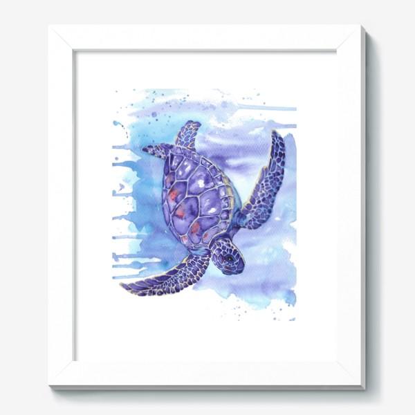 Картина «Черепаха в океане»