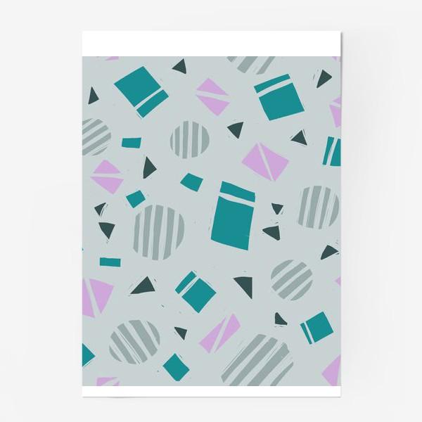 Постер «Геометрическая абстракция»