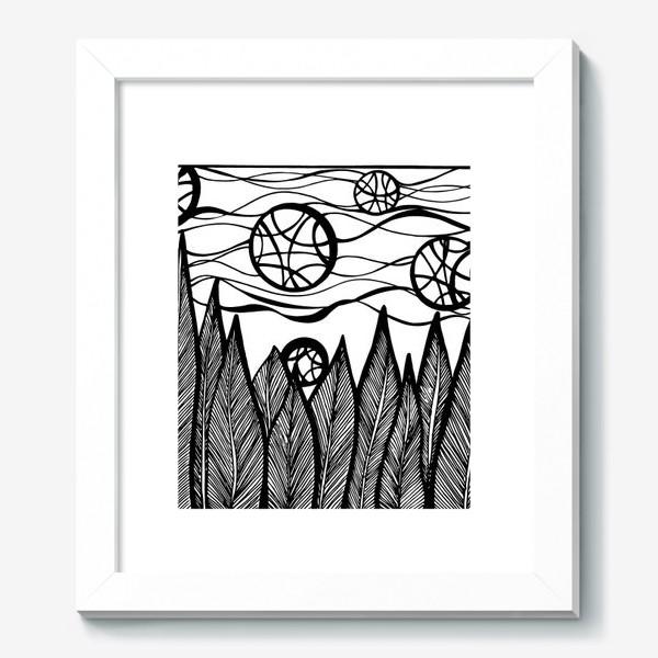 Картина «Космический лес»