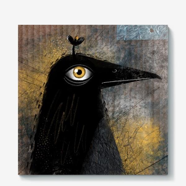 Холст «Ворона»