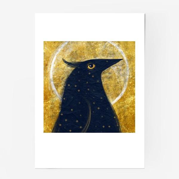 Постер «Космо-птица»