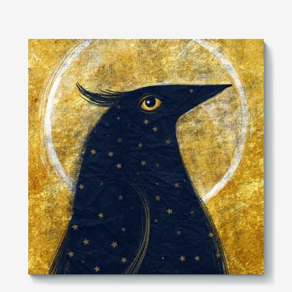 Холст «Космо-птица»