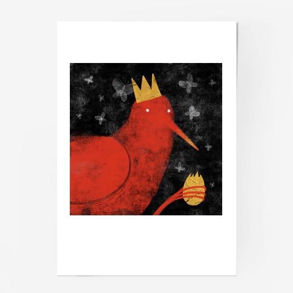 Постер «Птица в короне»