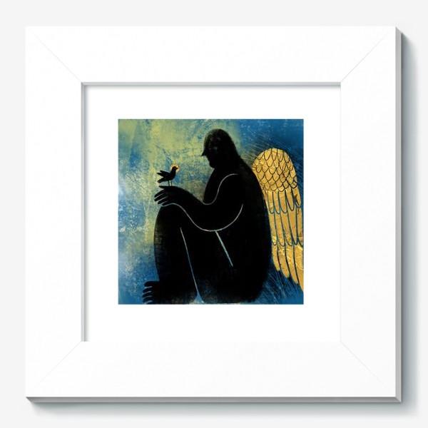 Картина «Ангел с птичкой»