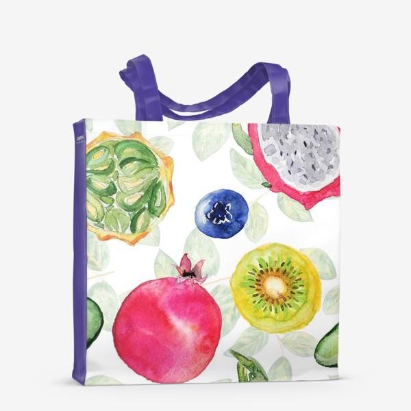 Сумка-шоппер «Сочные фрукты»