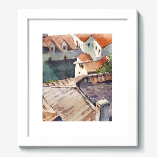 Картина «Крыши старого города. Котор. Черногорская серия.»