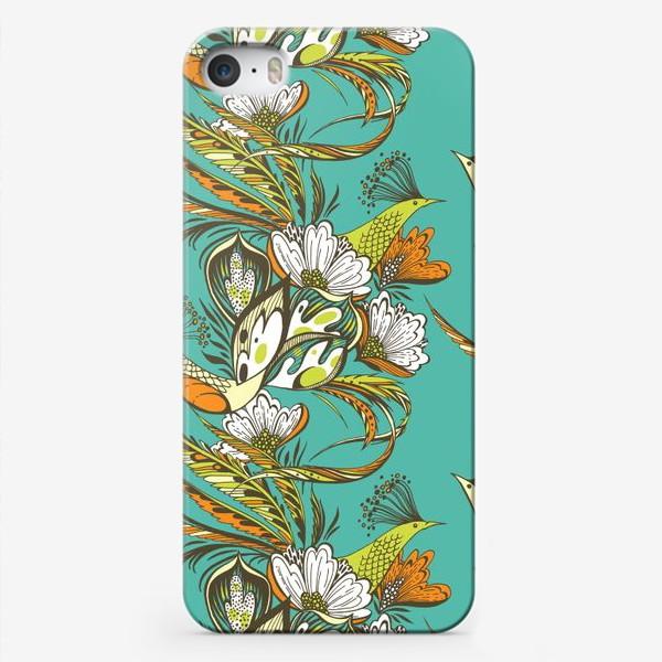 Чехол iPhone «Райские птицы»