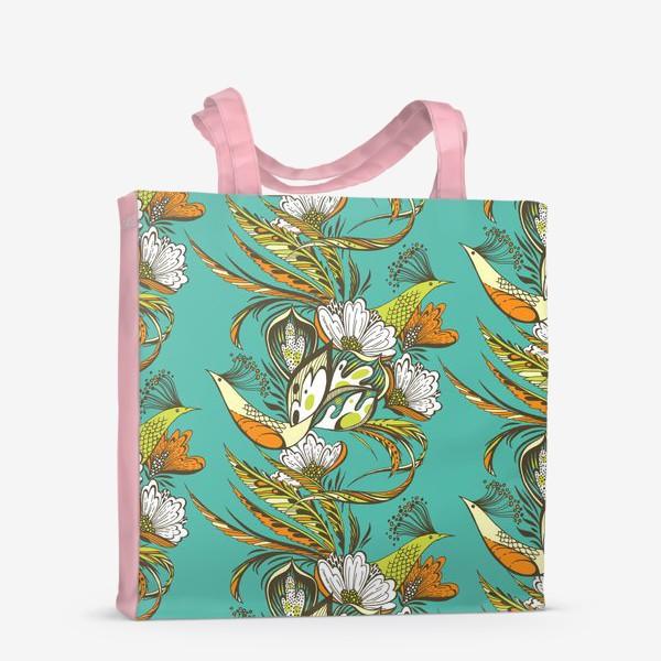 Сумка-шоппер «Райские птицы»