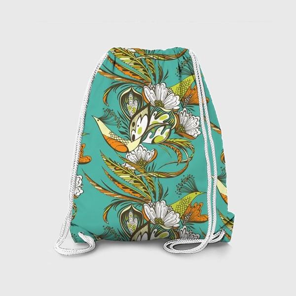 Рюкзак «Райские птицы»