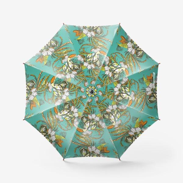 Зонт «Райские птицы»