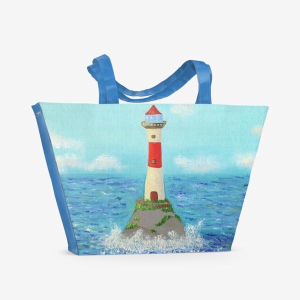 Пляжная сумка «Маяк. Масло»