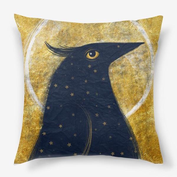Подушка «Космо-птица»