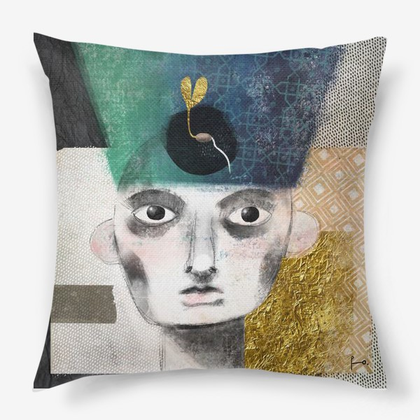 Подушка «Нефертити»