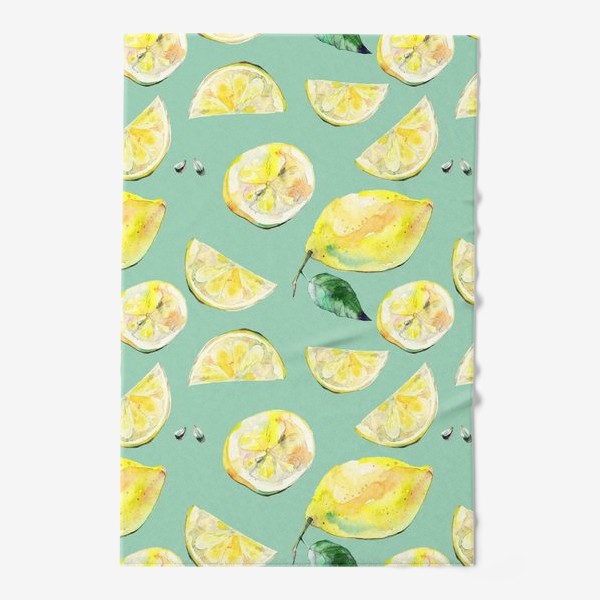 Полотенце «Лимончики 2»
