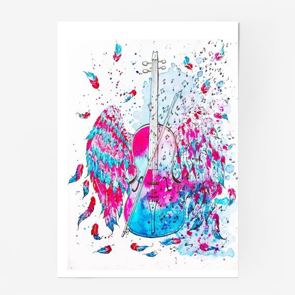 Постер «Музыка окрыляет»