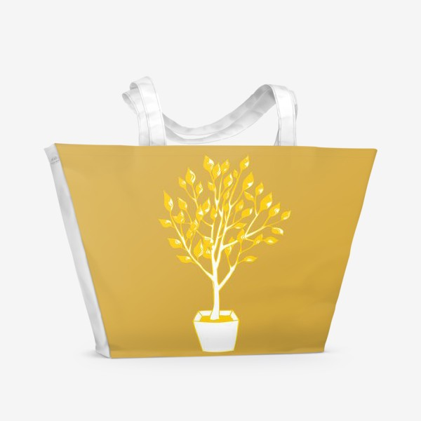 Пляжная сумка «Дерево»