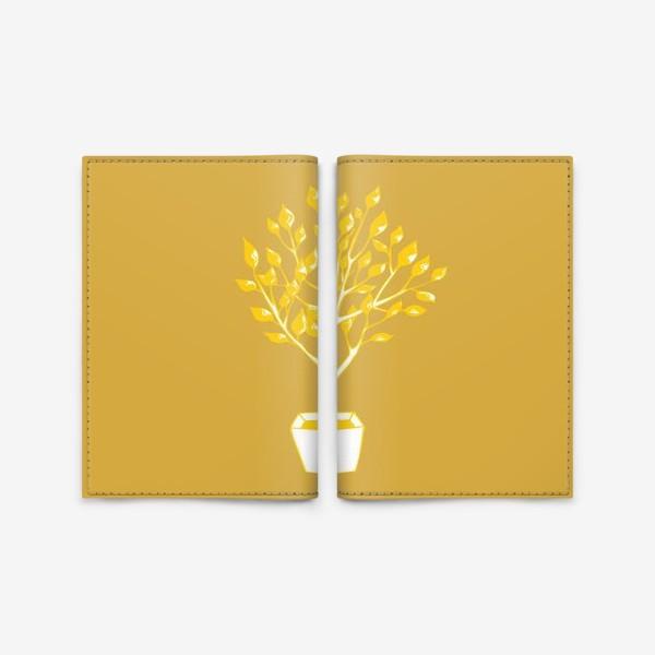 Обложка для паспорта «Дерево»
