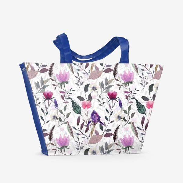 Пляжная сумка «May flowers»