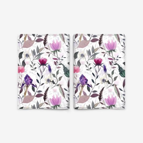 Обложка для паспорта «May flowers»