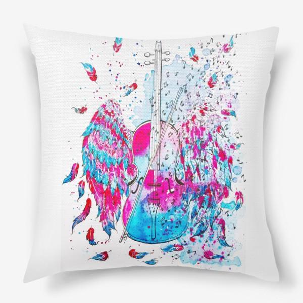 Подушка «Музыка окрыляет»