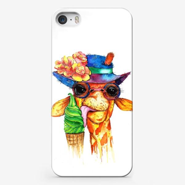 Чехол iPhone «Жираф»