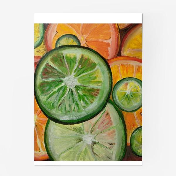 Постер «Лимон и апельсин»