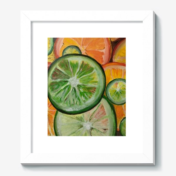 Картина «Лимон и апельсин»