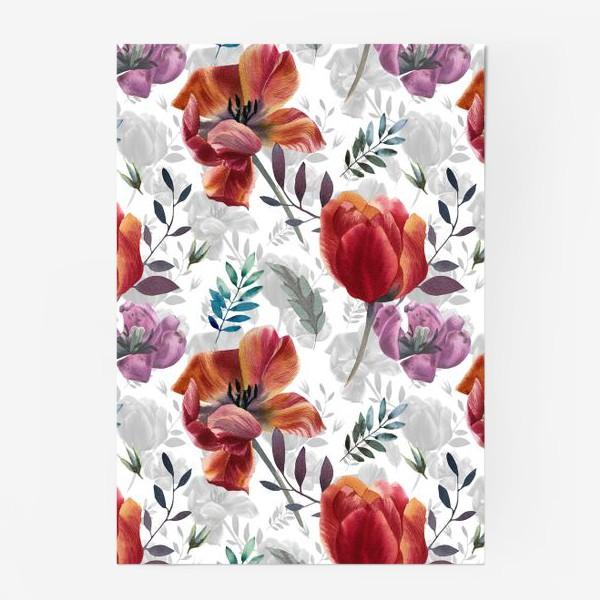 Постер «Spring tulips»