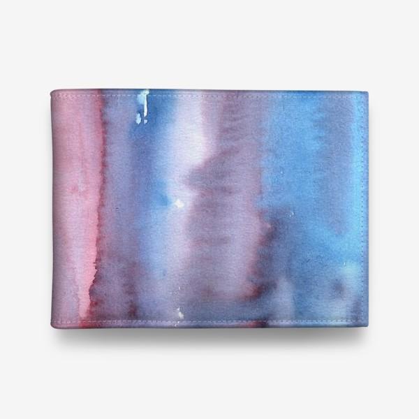 Кошелек «Абстрактный фон в фиолетовом цвете»