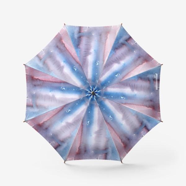 Зонт «Абстрактный фон в фиолетовом цвете»