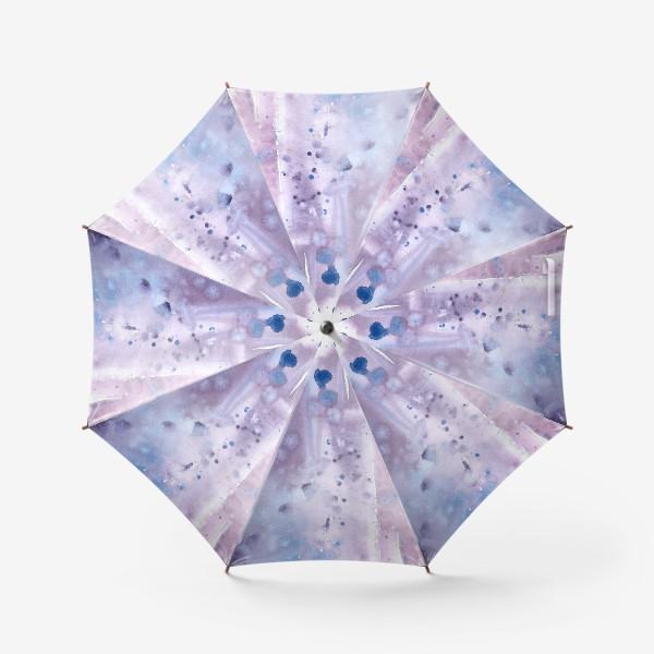 Зонт «Абстрактный фон в лавандовых тонах»
