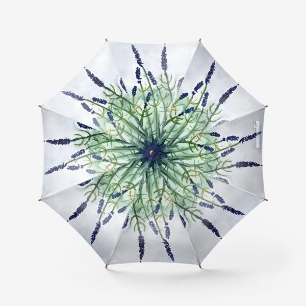 Зонт «Фиолетовые цветы»