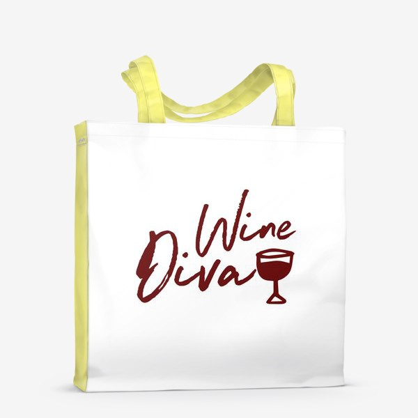 Сумка-шоппер «Wine Diva»