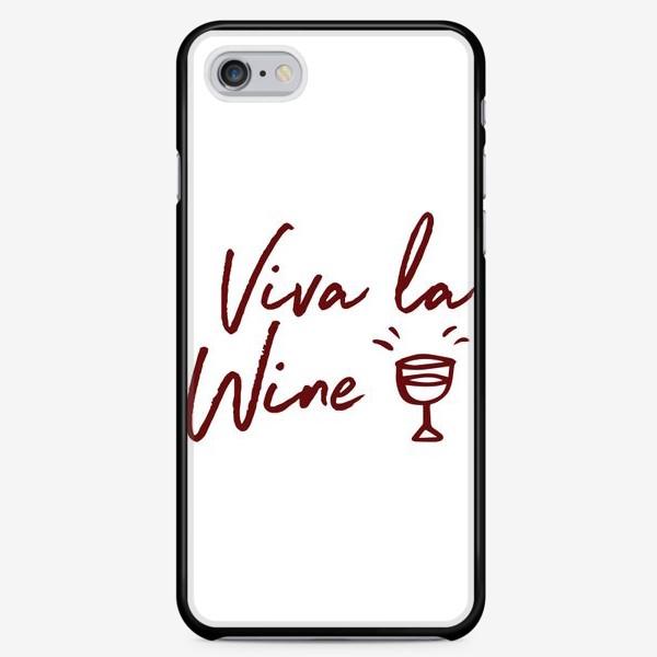 Чехол iPhone «Viva la Wine»