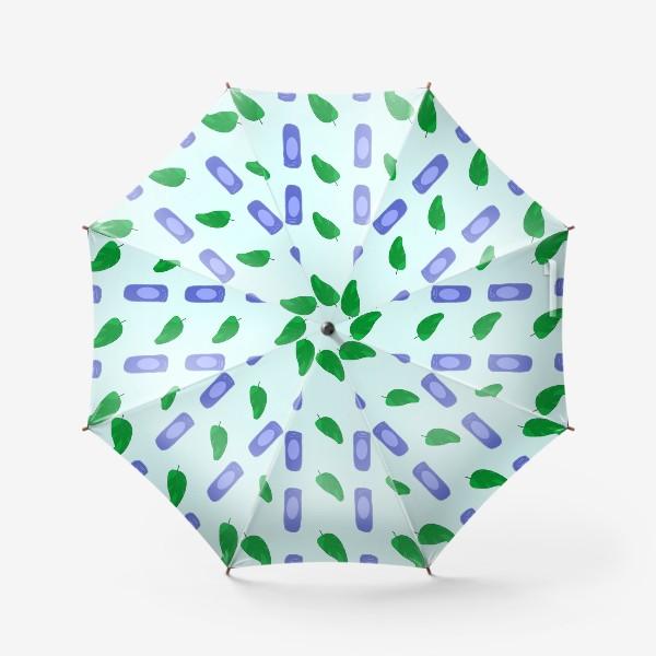 Зонт «Паттерн Жимолость»