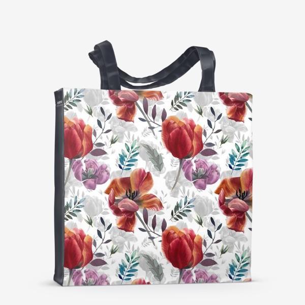 Сумка-шоппер «Spring tulips»