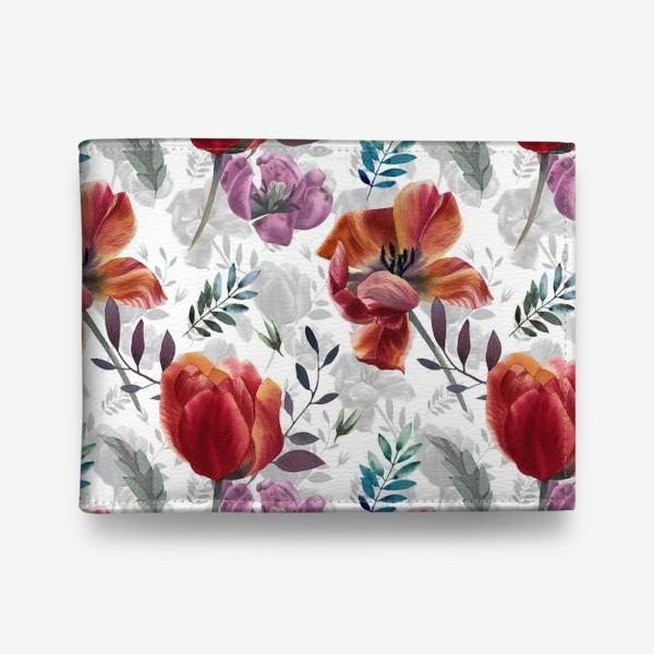 Кошелек «Spring tulips»