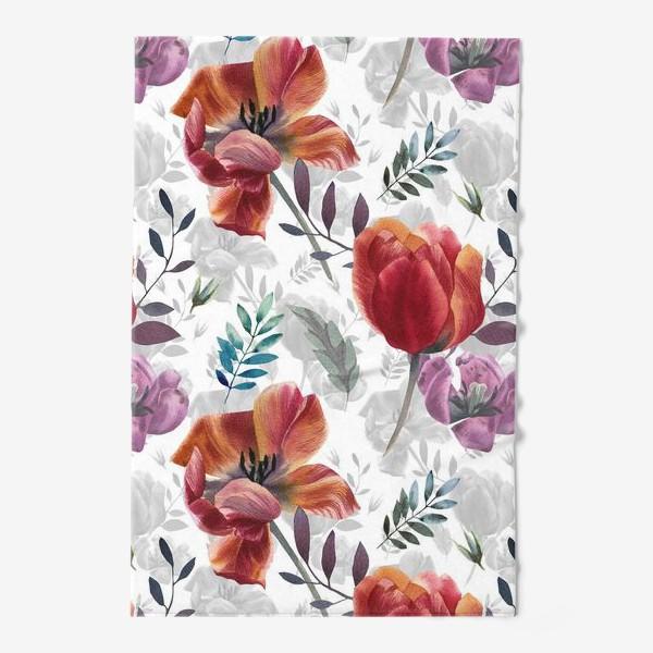 Полотенце «Spring tulips»