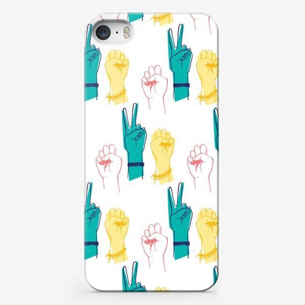 Чехол iPhone «Вперед девочки!»