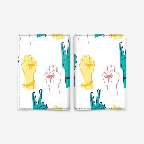 Обложка для паспорта «Вперед девочки!»