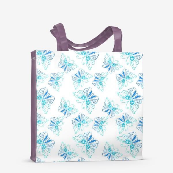 Сумка-шоппер «Бабочки»
