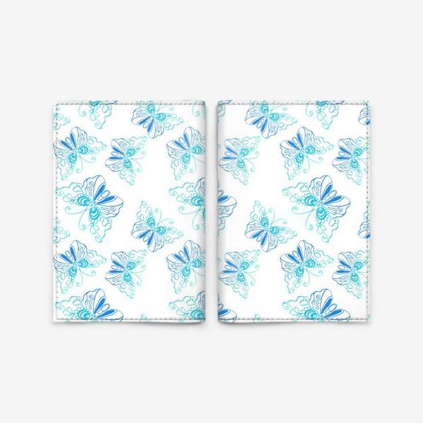 Обложка для паспорта «Бабочки»