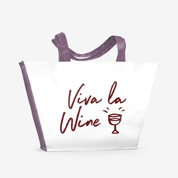 Пляжная сумка «Viva la Wine»