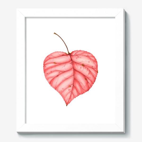Картина «Яркий лист осени»