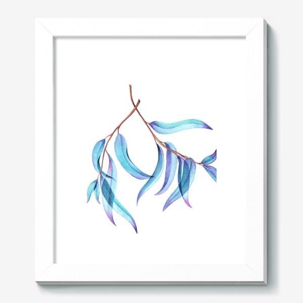 Картина «Абстрактные листья»